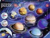 Ravensburger 3D Zonnestelsel - 3D puzzel - 27/54/72/108 stukjes