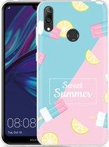 Huawei Y7 2019 Hoesje Sweet Summer