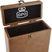 GPO CASE12BRO 12'' vinyl opbergkoffer
