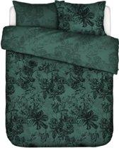 Essenza Home dekbedovertrek Vivienne green - extra kussensloop (60x70 cm)