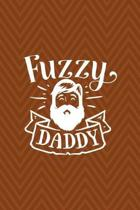 Fuzzy Daddy: Notebook Journal Composition Blank Lined Diary Notepad 120 Pages Paperback Brown Zigzag Fuzzy