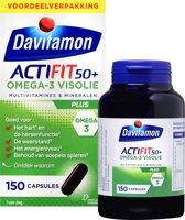 Davitamon Actifit 50+ Omega3  - 150 capsules - Voedingssupplement