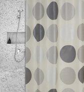 Roomture - douchegordijn - cirkels - 180 x 200 cm