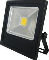 PROFILE LED straler flat - 20W - 1350 lumen - IP65 - zwart