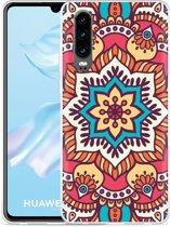 Huawei P30 Hoesje Mandala Hippie