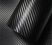 3D Carbon Wrap Folie | Car Wrap Folie | Zwart | 50 x 152