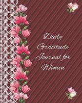 Daily Gratitude Journal for Women: Colouring Journal Notebook with prompts to Express Your Gratitude and Thankfulness.