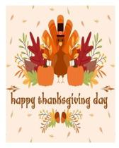 happy thanksgiving day: Thanksgiving Activity Book For Kids Ages 4-8: A Fun Turkey Day Children's Activity Workbook For Learning, Word Search,