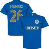 Leicester City Mahrez Team T-Shirt - M