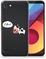 LG Q6   LG Q6 Plus TPU Hoesje Design Cow