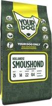 Yourdog hollandse smoushond hondenvoer volwassen 3 kg