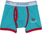 Claesen's Jongens Boxershort - Aqua - Maat 104-110