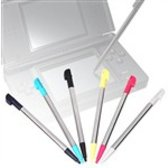 DSI XL Metallic uitschuifbare stylus pennen set - 6 in 1