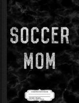 Vintage Soccer Mom Composition Notebook