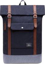 Rayland Laptoptas Rugzak met 15 Inch laptopvak - Rugzak laptop - Rugzak voor school - Rugzak heren - Rugzak vrouwen - Travel bag voor school werk reizen camping - A-Kwaliteit