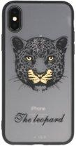 Luipaard TPU backcase cover Hoesje voor Apple iPhone X