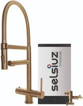 Selsiuz XL Gold met TITANIUM Combi boiler