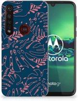 Motorola Moto G8 Plus TPU Case Palm Leaves