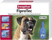 Beaphar Fiprotec Anti Vlooien en Tekenmiddel - Hond 20-40 kg