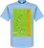 Pennarello Diego Maradona 1986 Classic Goal T-Shirt - L