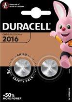 Duracell Lithium CR2016 3V - blister 2