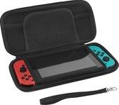 Nintendo Switch Case - Premium opberghoes met extra veel opbergvakken - Zwart