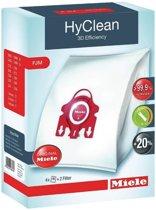 Miele HyClean 3D Efficiency FJM - Stofzuigerzakken - 4 Stuks