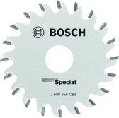 Bosch Cirkelzaagblad �Special� �65x15mm - 20 tanden voor Bosch PKS 16 Multi