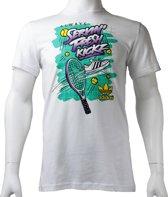 Adidas Video Game Tee Z36494, Mannen, Wit, T-shirt maat: XS EU