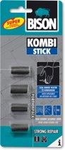 Bison - Kneedbaar Staal - Kneedbaarstaal - Kombi Stick - 2-componentenlijm - Portion Pack