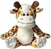 Pluche giraffe knuffel 25 cm - knuffeldier