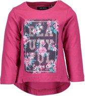 Blue Seven Meisjes T-shirt - Roze - Maat 62
