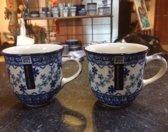 Bunzlau Castle koffiekopjes Harmony 2 st
