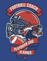 Football Coach Playbook and Planner
