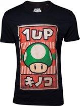 Nintendo - Propaganda Poster 1-Up T-shirt - S