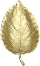 Fruitschaal - goud - aluminium - woondecoratie - decoratieve schaal