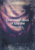 Characteristics of Goethe Volume 1