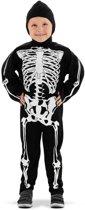Skeleton kostuum 3-5 jaar