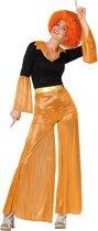 Oranje disco kostuum voor vrouwen  - Verkleedkleding - XS/S