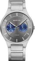 BERING 11539-777 - Horloge - Titanium - Grijs - 39 mm