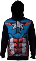 Avengers - Captain America Sublimated Hoodie - L