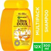 Garnier Ultra Doux Kamille Shampoo - 12 x 300 ml - Blond Haar - Voordeelverpakking