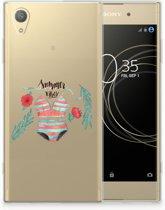 Sony Xperia XA1 Plus Uniek TPU Hoesje Boho Summer