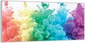 Plexiglas –Regenboog Wolken– 200x100cm (Wanddecoratie van Plexiglas)