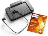 Philips SpeechExec Transcriptieset Professional LFH7277/08, USB voetschakelaar, Stereo headset, SpeechExec Pro-transcriptiesoftware (abonnement voor 2 jaar)