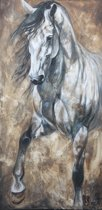 Horka Wenskaart Elise Paard Wit 12,5 X 18 Cm