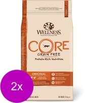 Wellness Core Grain Free Cat Original Kalkoen&Kip - Kattenvoer - 2 x 1.75 kg