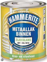 Hammerite Metaallak Binnen Krasvast Zijdeglans Ral9010 500ML