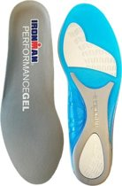 Ironman Inlegzool Performance Gel Grijs Maat 38/40