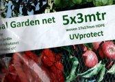 Tuinnet universeel 5x3 meter